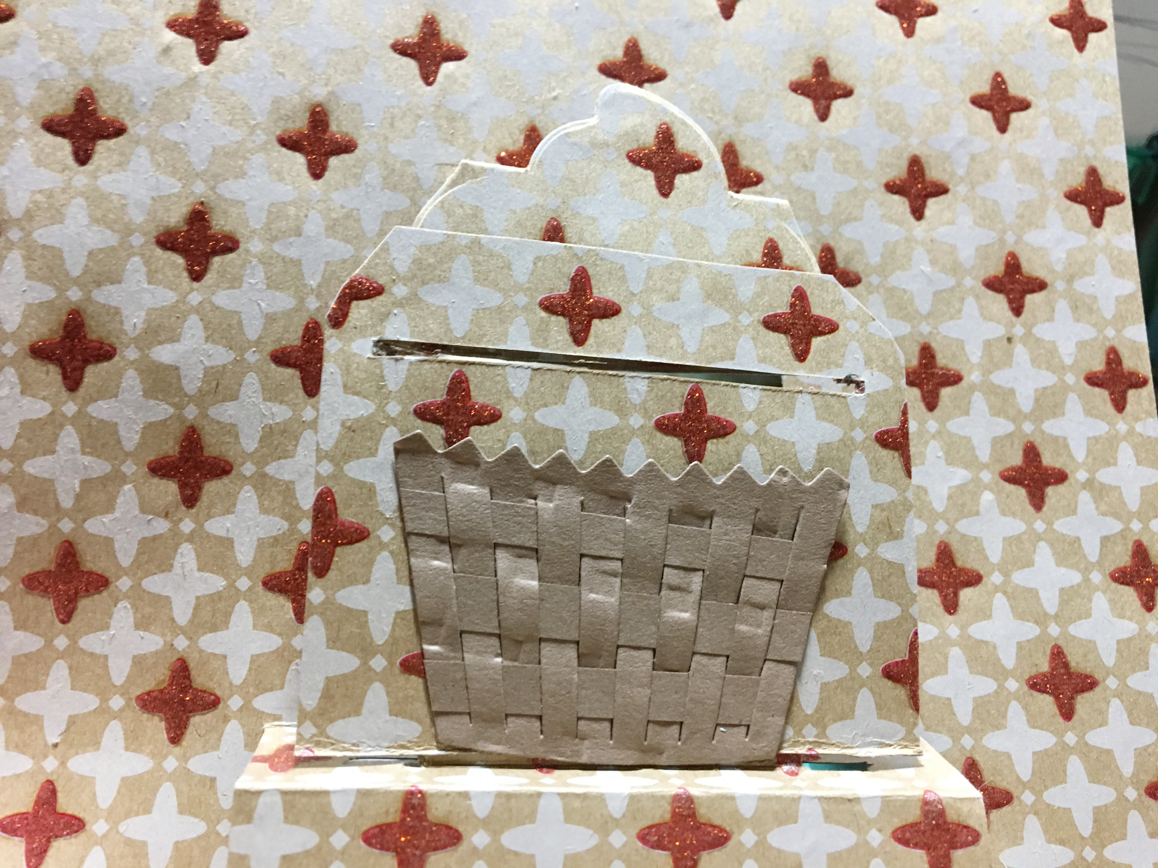 Square added with basket