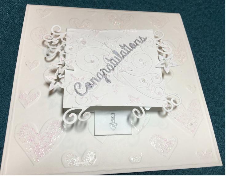 WEDDING Cake-Front Angle
