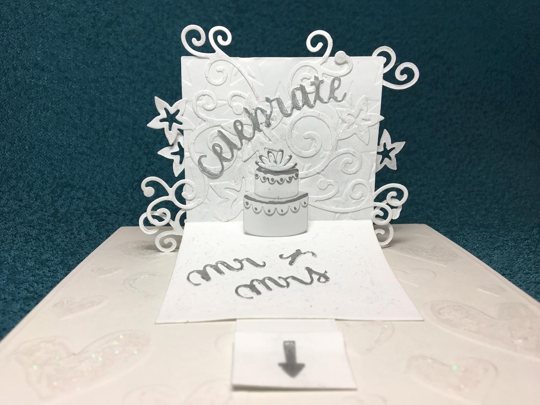 WEDDING Cake-Pop-Up