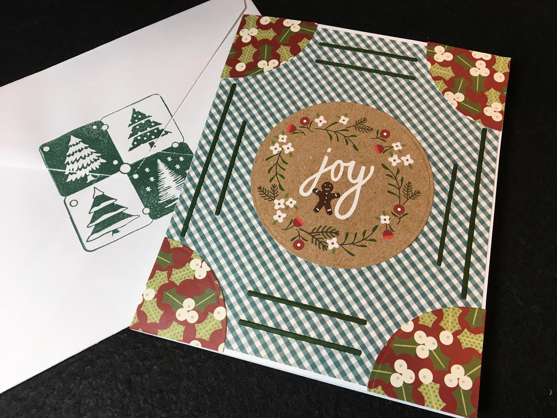 Gingerbread Joy -Front