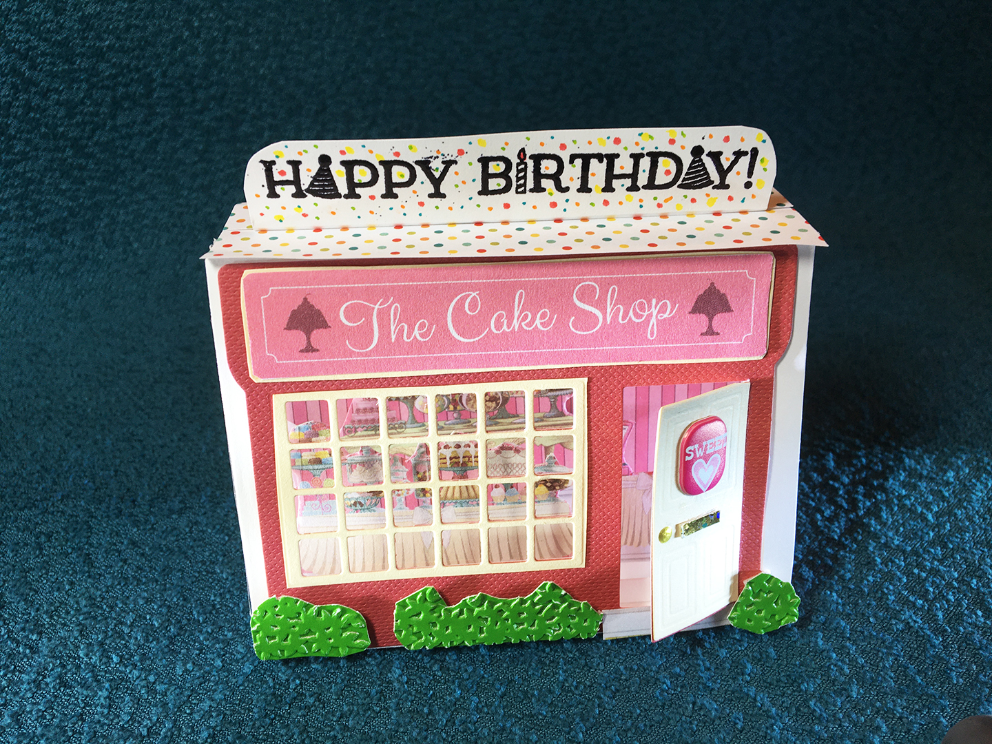 cake shop front-roof