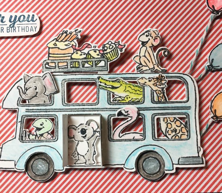 Zoo Bus -Front-CU