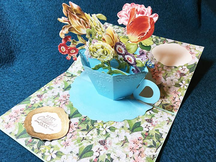 Blue teacup-inside-side
