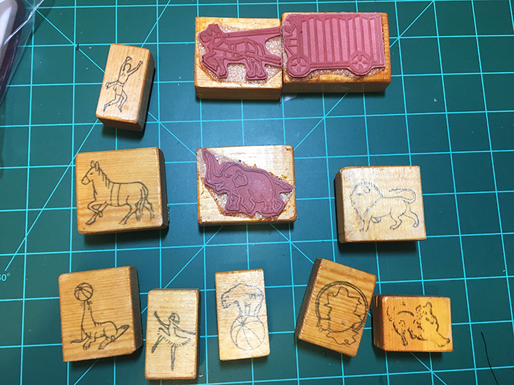 Circus-stamps