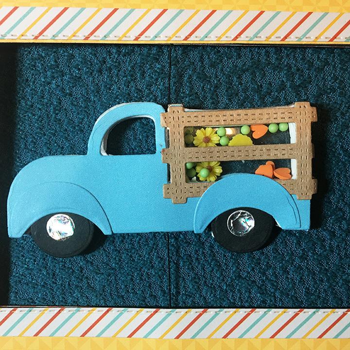 Blue truck -CU