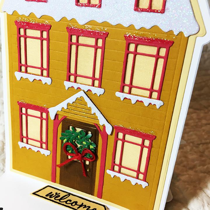 Snowy house -house CU